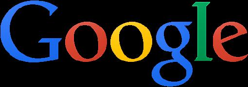 Google Logo flach