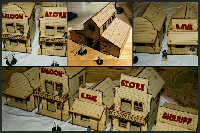casas old west Urban Laser Craft