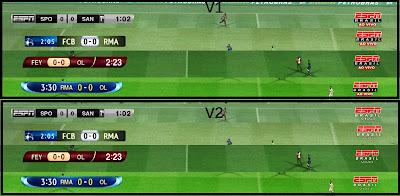 ESPNBrasil PES 2012: Placares ESPN Brasil