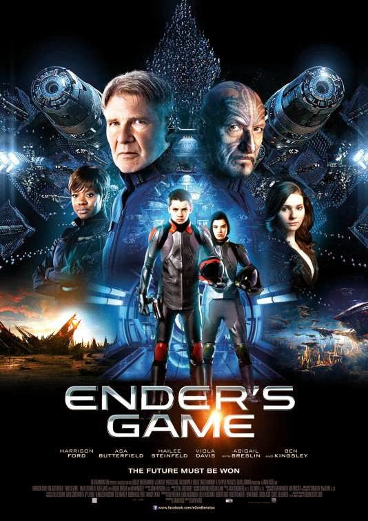 Poster Of English Movie Ender's Game (2013) Free Download Full New Hollywood Movie Watch Online At Alldownloads4u.Com