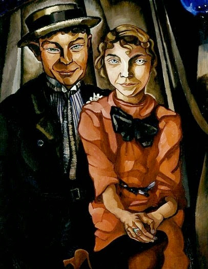Charley Toorop - The young couple