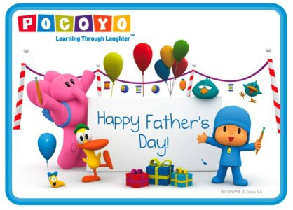 occasions, Father's Day, pocoyo
