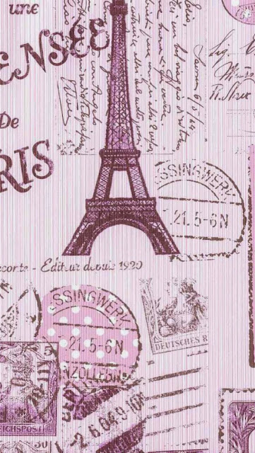 Paris Need I Say More Love These Walls Vintage Pink