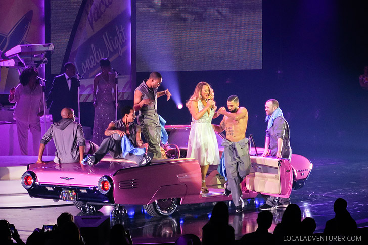 Mariah Carey Las Vegas Residency at the Caesars Palace.