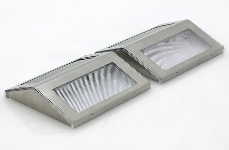 Lampade Solari Da Esterno: Lampada solare luce led giardino esterni balcone lanterna.
