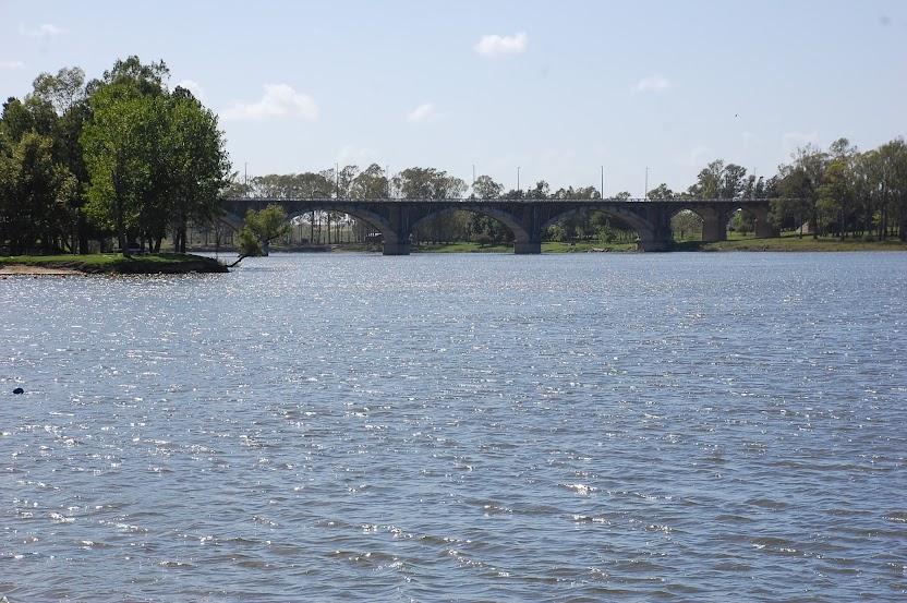 El rio Negro visto desde la rivera de paso De Los Toros. Foto Sergio SILVA.