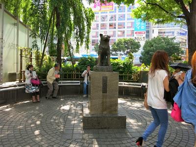 渋谷のハチ公