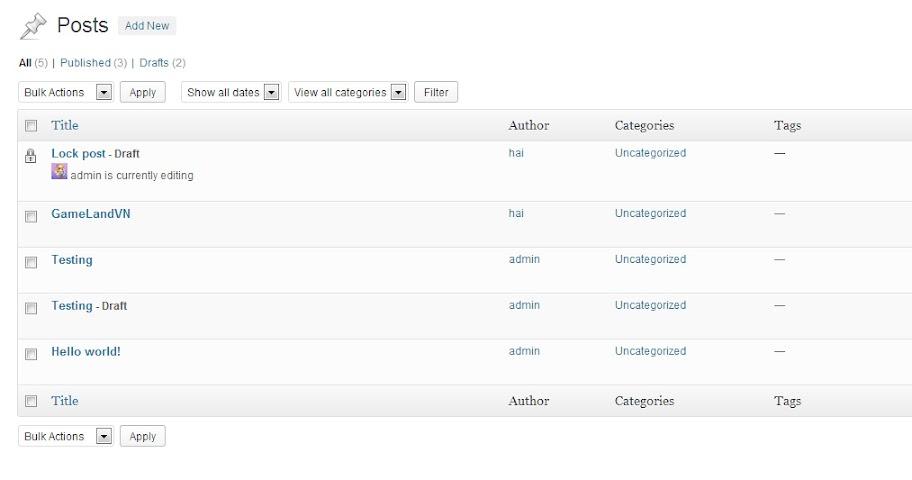 Trải nghiệm Wordpress 3.6 trước giờ ra mắt - Ảnh 6