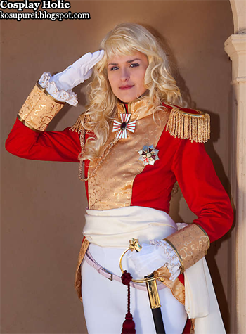 the rose of versailles cosplay - lady oscar francois de jarjayes 2 by bluewater
