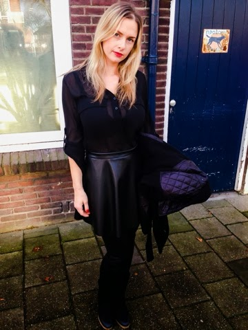 black classy outfit