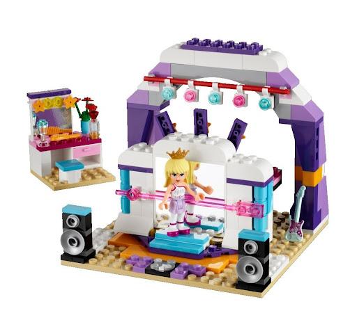 レゴ フレンズ・バレエ&ミュージックスタジオ 41004