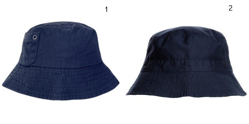 Wimbledon 2016: Spectator Style for Kids JoJo Maman Bébé Boys' Twill Bucket Hat £10 Petit Bateau, Navy Blue Cotton Sun Hat £15
