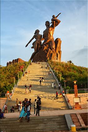Monumento al Renacimiento Africano - Dakar