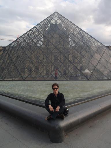 Paris, Piramide, Louvre