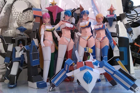 3RS Real Papercraft Babes Bots