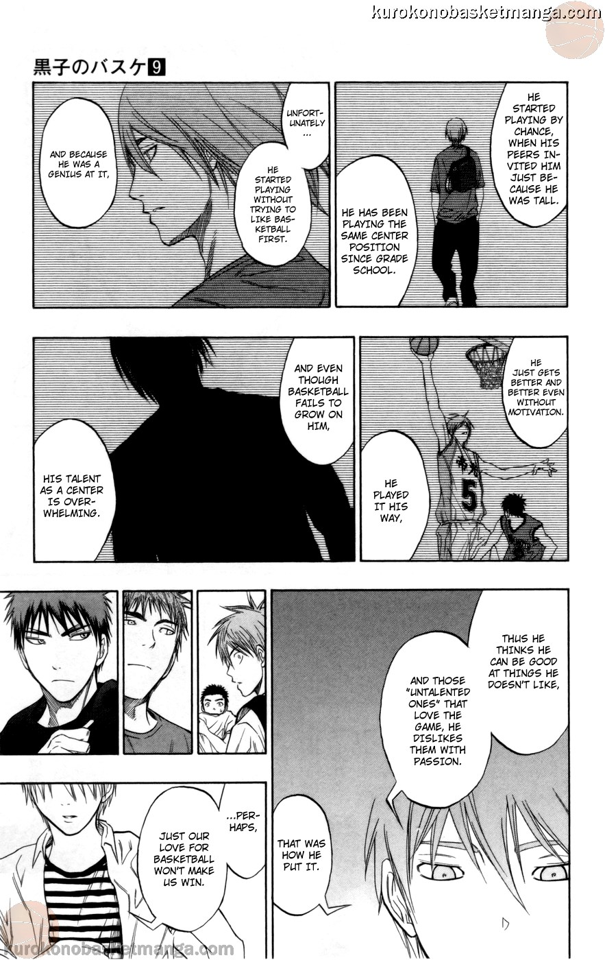 Kuroko no Basket Manga Chapter 79 - Image 17