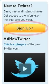 Cara Mendaftar Twitter