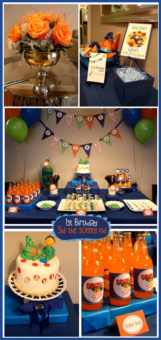 Artbyangeli Real Party Sid The Science Kid Birthday