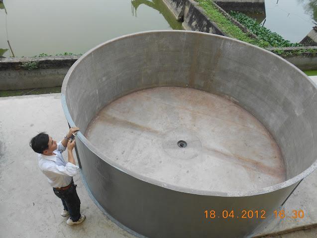 Bồn composite nuôi thủy sản, hải sản