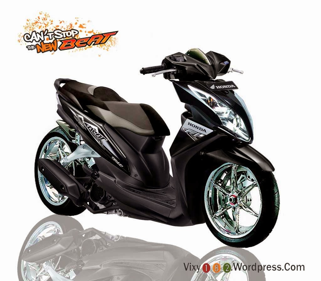 modifikasi honda beat f1