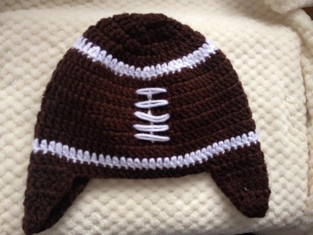 Blog Me: Gorro para el Super Bowl | Patrón de Crochet