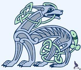 Image result for Celtic wolf