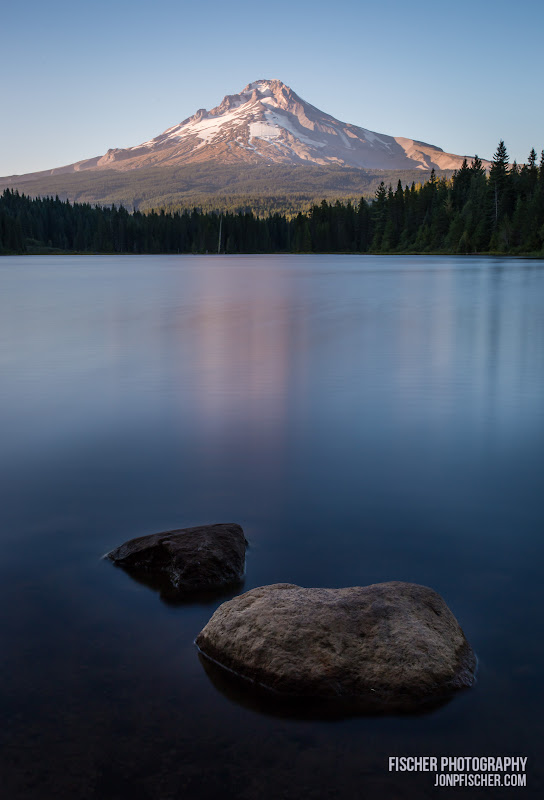Mt. Hood in the evening