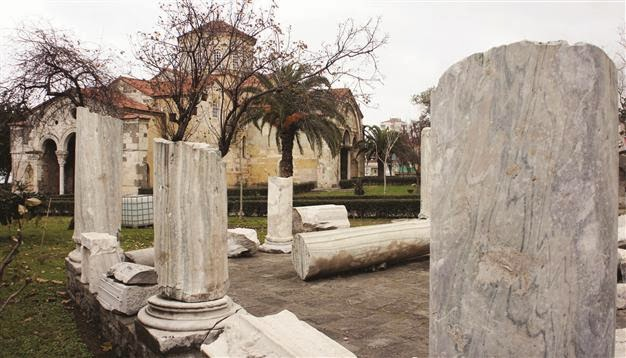 Near East: Artefacts of Hagia Sophia on display at Trabzon Museum