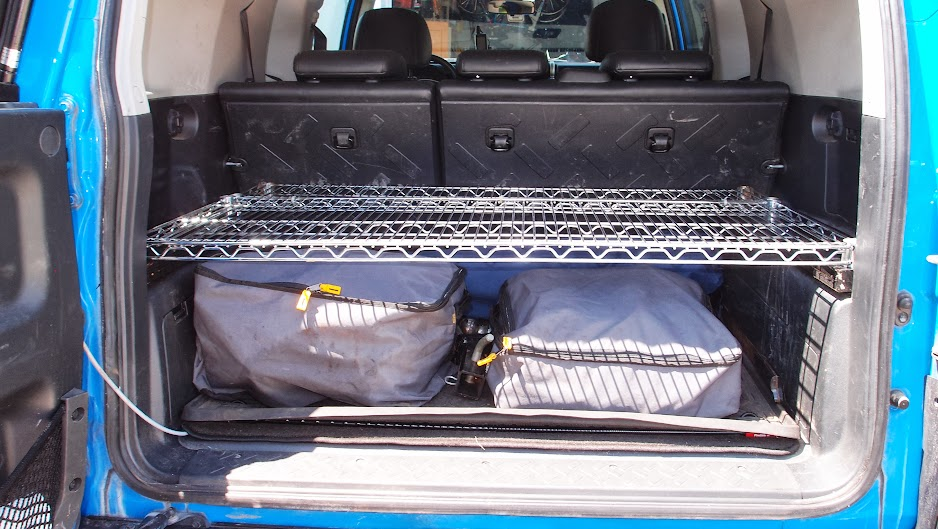 Yet Another Rear Storage Solution Toyota Fj Cruiser Forum