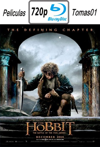 El Hobbit 3: La batalla de los cinco ejércitos (The Hobbit 3) (2014) (BRRip) BDRip m720p