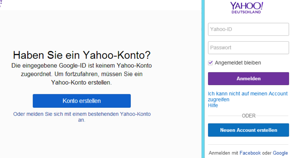 Yahoo! Accounts