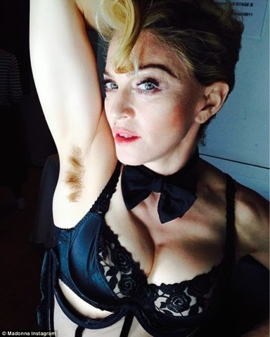 Is Leaving Hair under the Armpit Ladylike ?