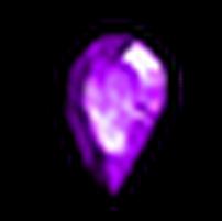 無瑕疵的紫寶石