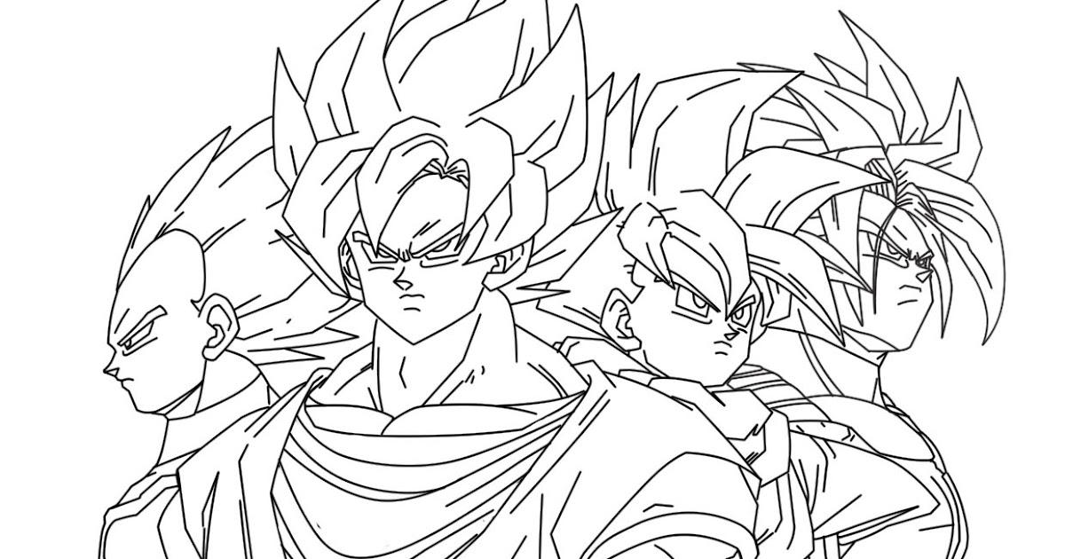 Imagenesde99 Imagenes De Goku Faciles Para Dibujar