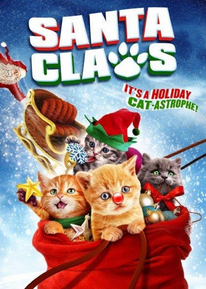 Poster Of English Movie Santa Claws (2014) Free Download Full New Hollywood Movie Watch Online At Alldownloads4u.Com