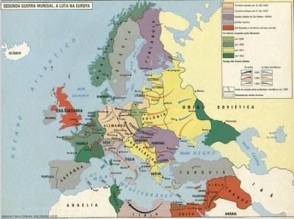 Resumen de la primer y segunda Guerra mundial.