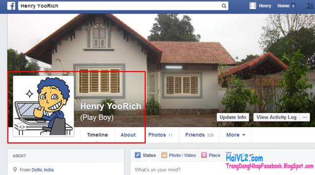 đổi avatar facebook thành công