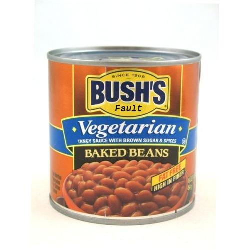 Bush's Fault Baked Beans (Vegitarian)
