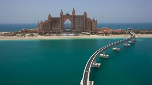 Atlantis Hotel di Palm Jumeirah Island