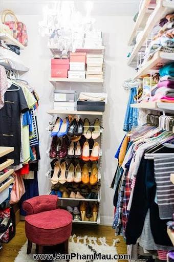 Thiết kế tủ quần áo: Một số thủ thuật giúp tăng diện tích để quần áo-3