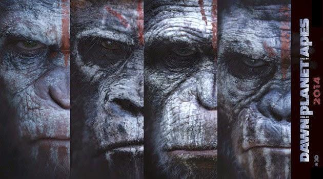 Ο Πλανήτης των Πιθήκων: Η Αυγή (Dawn of the Planet of the Apes) Wallpaper