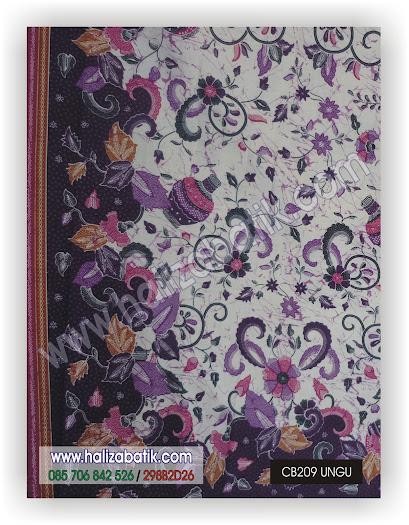 Seragam Batik Kantor, Baju Batik Modern, Baju Batik Sarimbit, CB209 UNGU