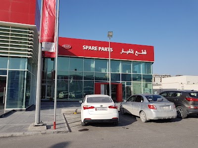 kia motors service center and showroom ad dawhah doha