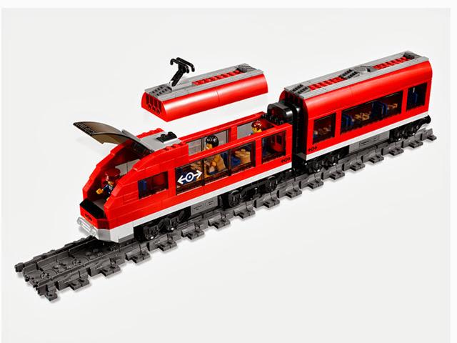 7938 レゴ シティ トレイン 超特急列車
