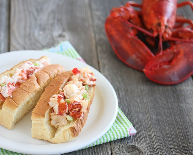photo of two lobster rolls