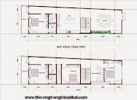 Tư vấn thiết kế nhà phố anh Minh Long Khánh Đồng Nai - THI CÔNG TRANG TRÍ NỘI THẤT