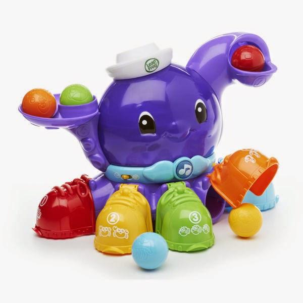 Chơi bóng cùng bạch tuộc màu sắc Leapfrog là món đồ chơi được thiết kế thật sự bắt mắt