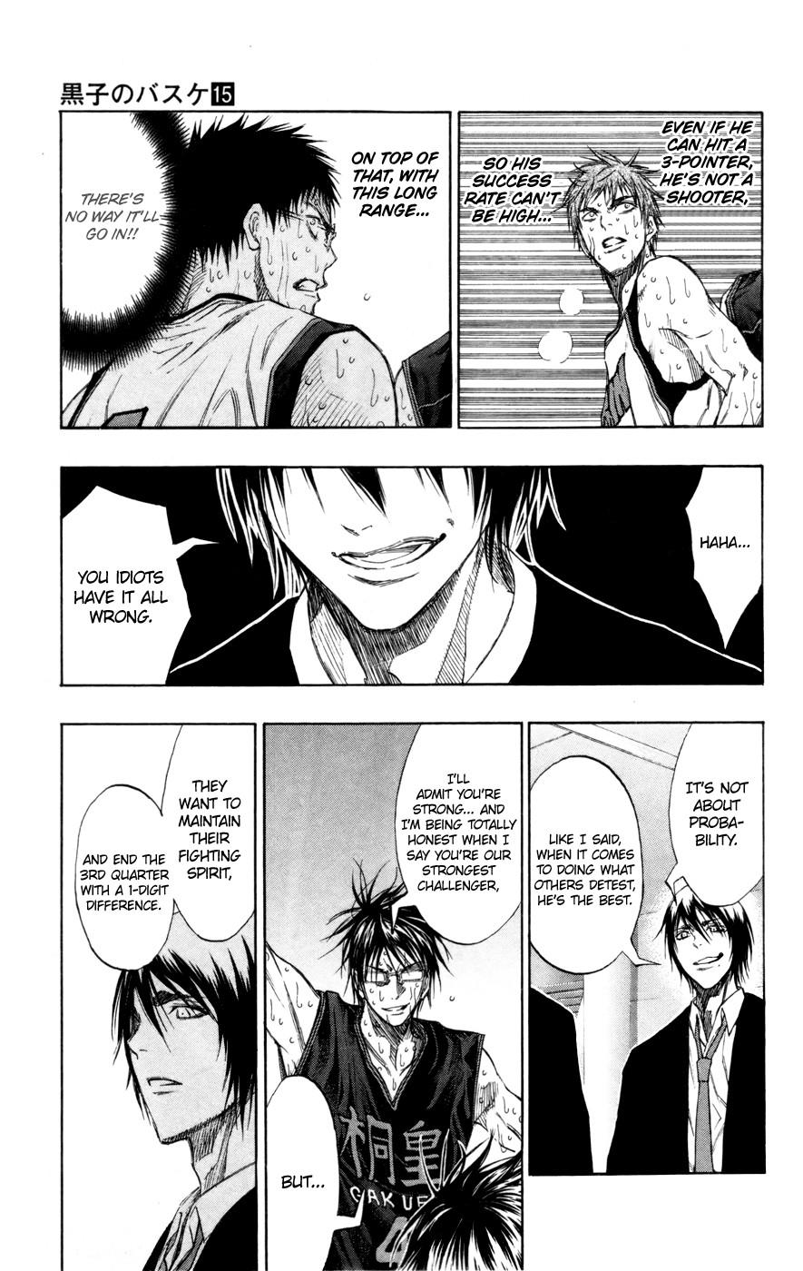 Kuroko no Basket Manga Chapter 130 - Image 03