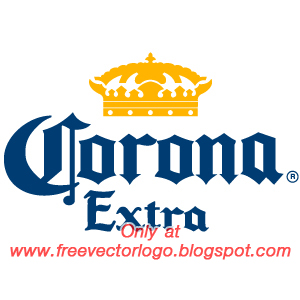 Corona Extra beer logo vector