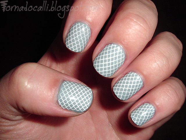 A Fistful Of Fingernails Nail Art Cosmetic Goodness Spring Fishnet
